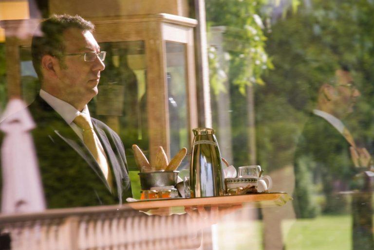 Room service du Relais de Margaux